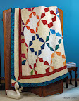 Kaleidoscope  /  The Quilter Magazine, Dec '11 / Jan '12. /  Photo courtesy of The Quilter Magazine.