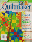 Citrus Stars / Cover of Quiltmaker, July/August 2011