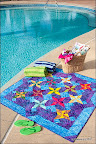 Star Splash / Quilt Magazine, June/July 2011 / Photo courtesy of Quilt Magazine / www.quiltmag.com