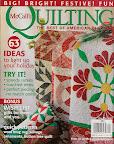 Antique Circles / cover of McCall's Quilting Nov/Dec 2010