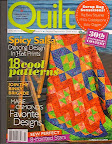 Hot & Spicy Salsa  / This quilt made the cover of Quilt 30th Anniversary issue! / Photo courtesy of Quilt Magazine