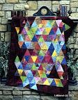 Thousand Pyramids /  Quilt, #81 Aug/Sep  2007 / Photo courtesy of Quilt Magazine