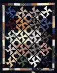 Pretty Pinwheels  / Quilt,  #75 Feb/Mar 2007