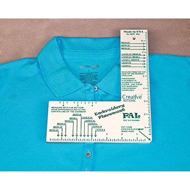 Embroidery Placement Ruler 098612027003