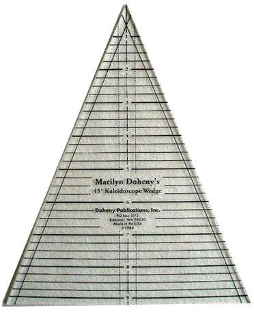 45 176 Kaleidoscope Wedge Ruler 638766253967