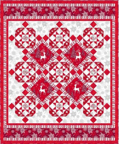 Quilting Treasures-Celebrate the Season-Free Project