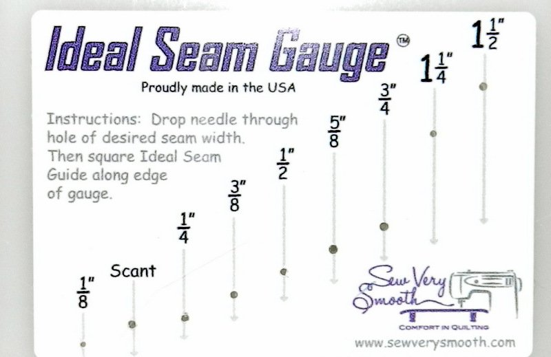 Ideal Seam Gauge Sew Very Smooth 092145549513
