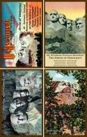 South Dakota-Mount Rushmore Set 1 - American Quilt Blocks - AQB-MNTRUSH-1