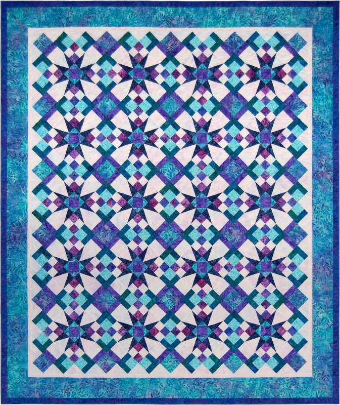 Celestial magic quilt pattern for Celestial pattern fabric