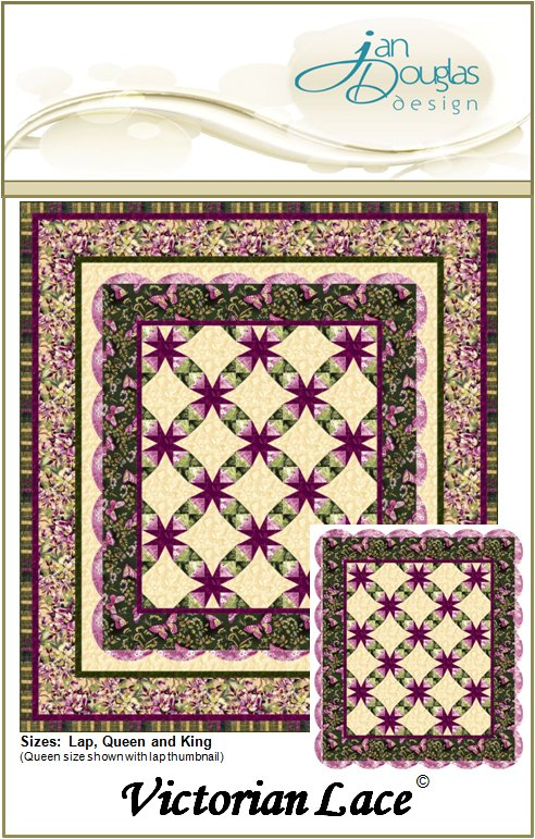 Victorian Lace Quilt Pattern