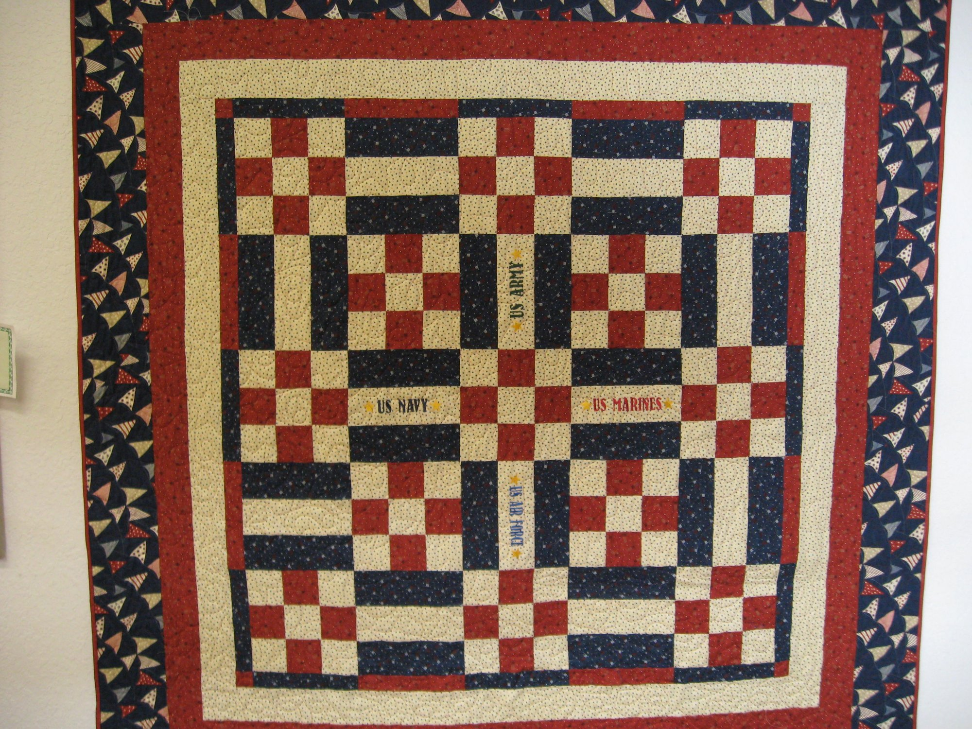 Quilting 101 Rail Fence And 9 Patch