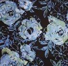 Hoffman Fabrics K2470 Black/blue