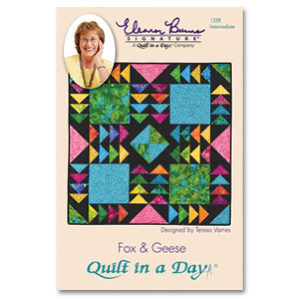 Fox & Geese: Eleanor Burns Signature Quilt Pattern