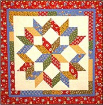 Carpenter's Star Quilt Pattern SBQ-106e (instant download)