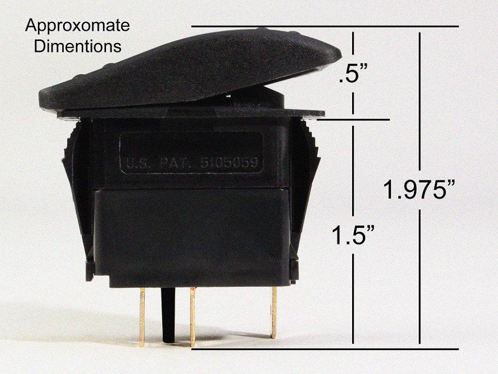 Carling Contura Illuminated Switch