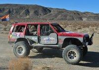 Team M.A.D. Ultra 4 style race team 1995 Jeep Cherokee
