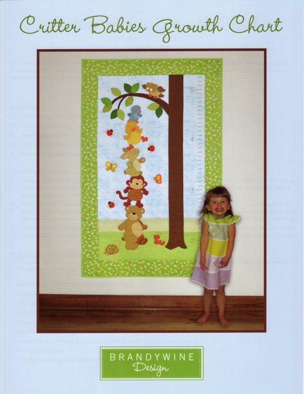 Critter Babies Growth Chart 636052020453