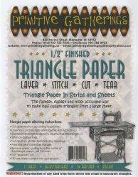 Triangle Paper 1/2