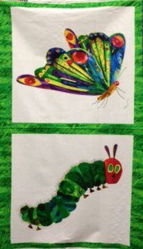 Andover's The Very Hungry Caterpillar 2 Panel
