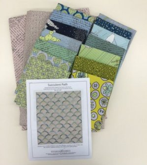 Succulent Path Quilt Kit
