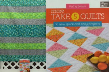 More Takes Quilt By Pat C With Book