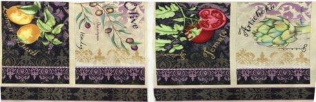 Wilmington Prints Della Terra Place Mats