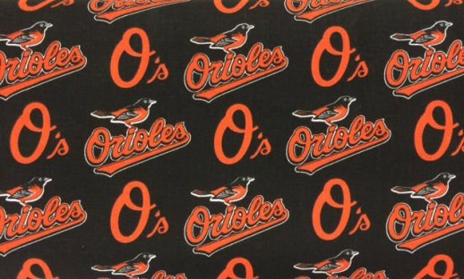 MLBs Orioles Fabric