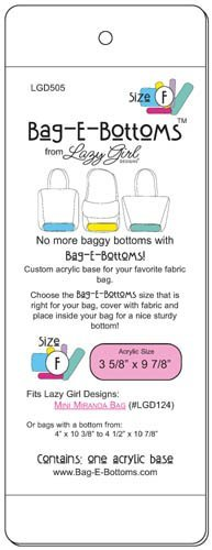 Lazy Girl Designs Bag-E-Bottoms Size F