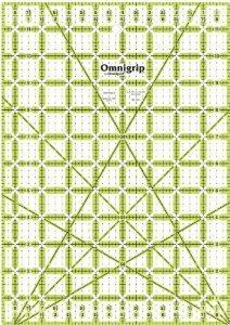 Omnigrip 6 x 12 Non-Slip Ruler