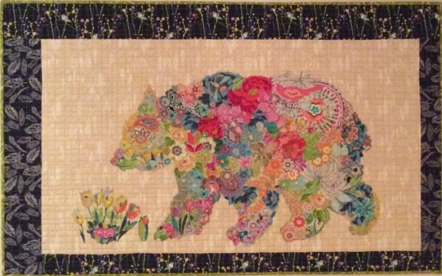 Paisley Bear Collage Pattern By Laura Heine 1443827805