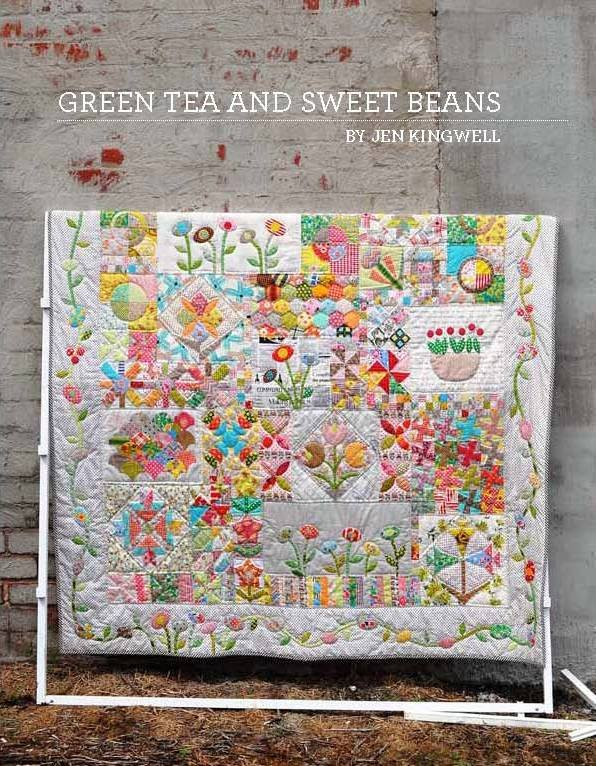 Green Tea and Sweet Beans Pattern Booklet by Jen Kingwell