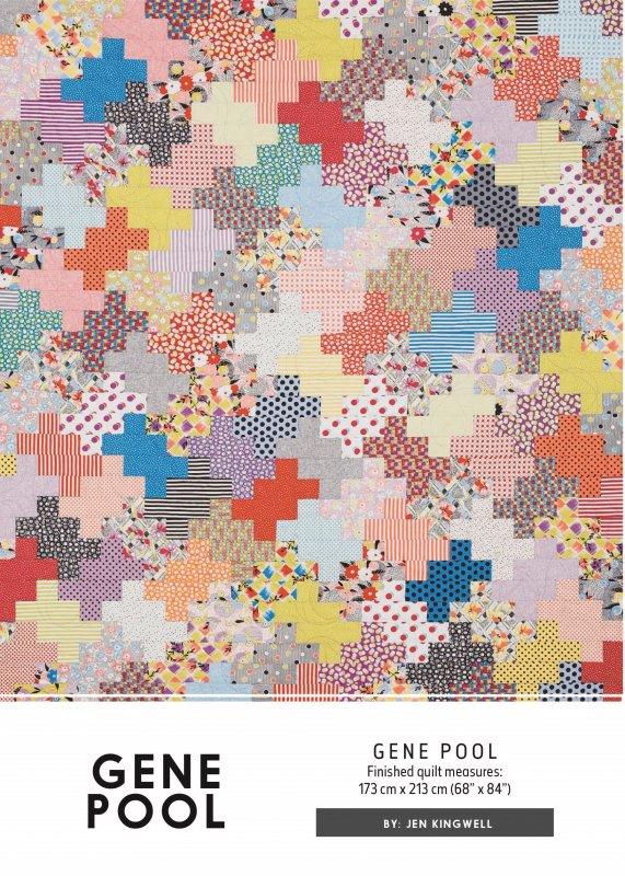 Gene pool by jen kingwell designs for Pool design pattern