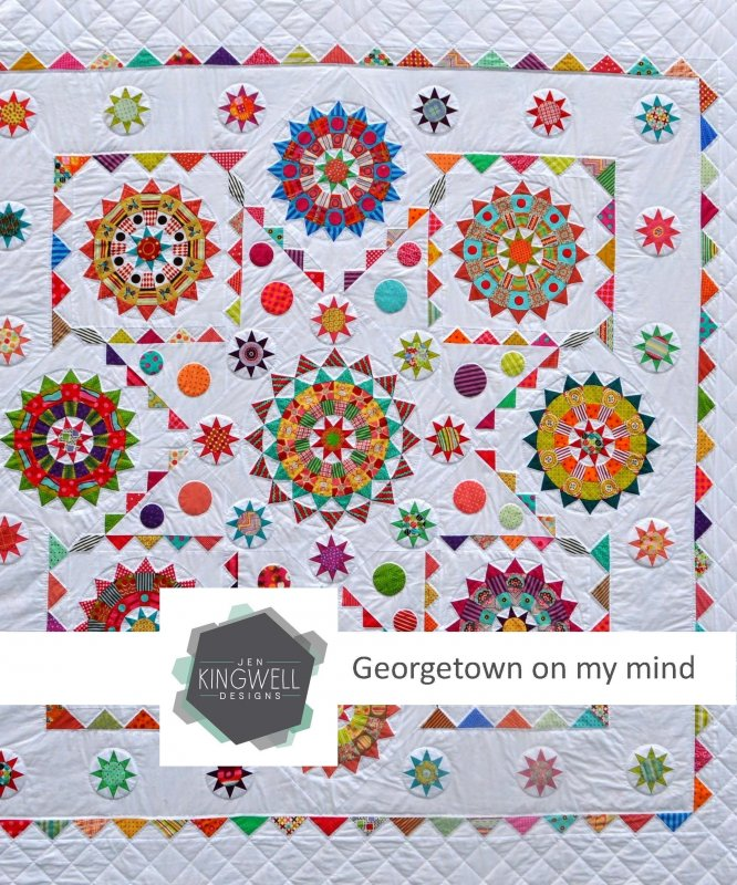 Georgetown on my Mind Pattern by Jen Kingwell Designs