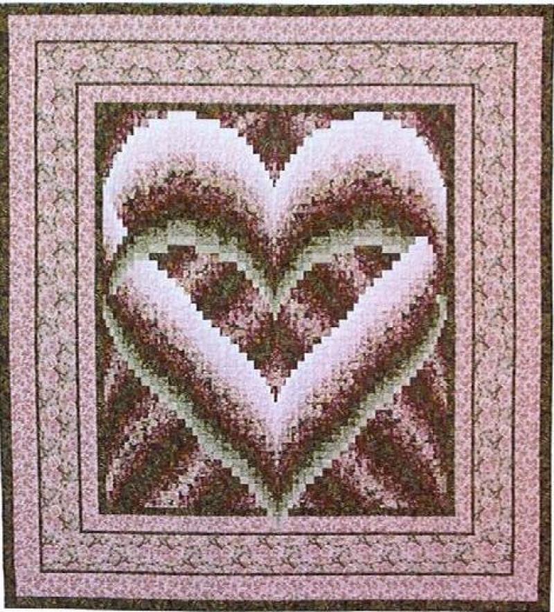 Melinda's Heart Quilt Pattern