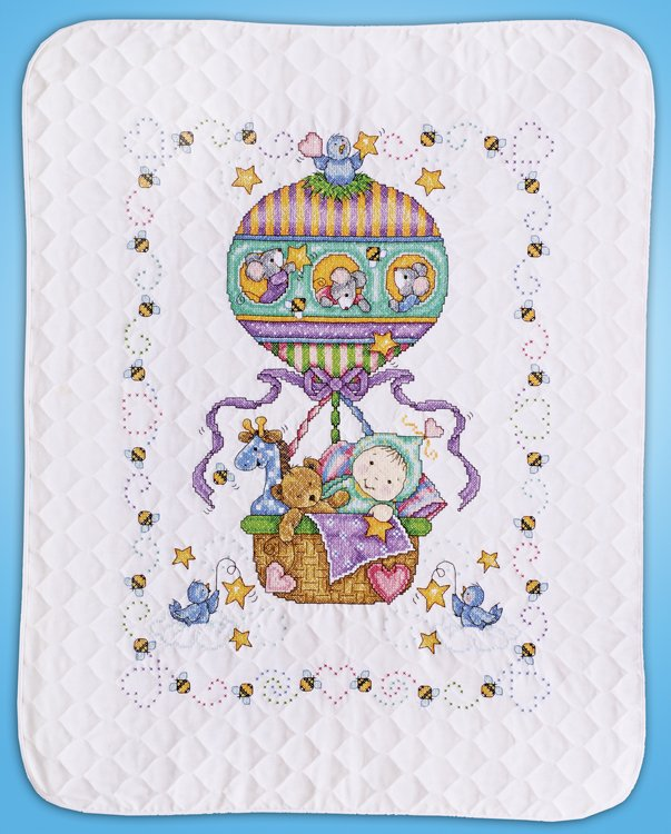 # T21767 Balloon Ride Quilt