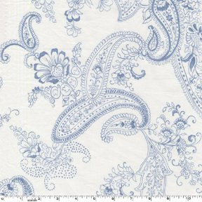 Pristine Paisley by Michael Miller Fabrics (SG5214-wedgewood)