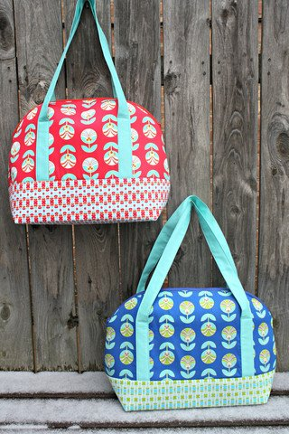 Aeroplane Bag Pattern by Sew Sweetness