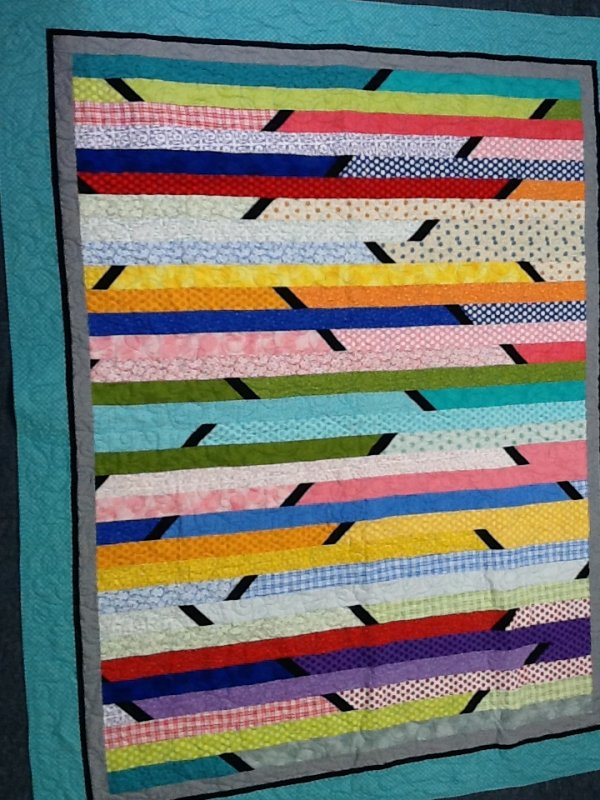 Quilt Pattern Jelly Roll Race : Jelly Roll Race with a twist Quilt