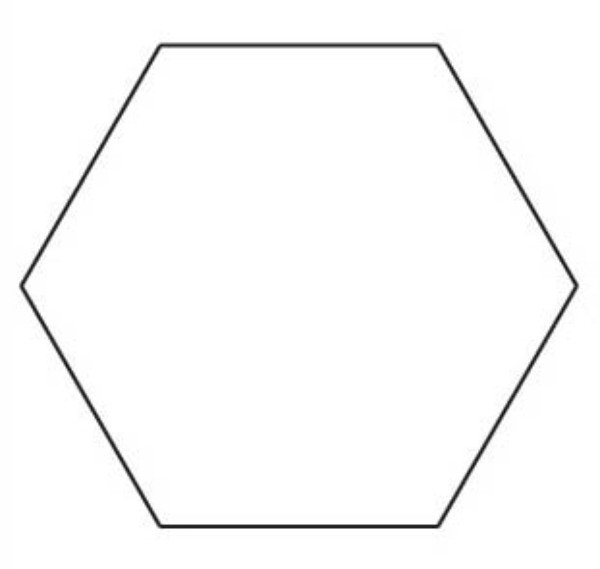 Accomplished image intended for free printable hexagon template