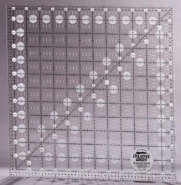 Creative Grid Ruler - 12.5 in x 12.5 in