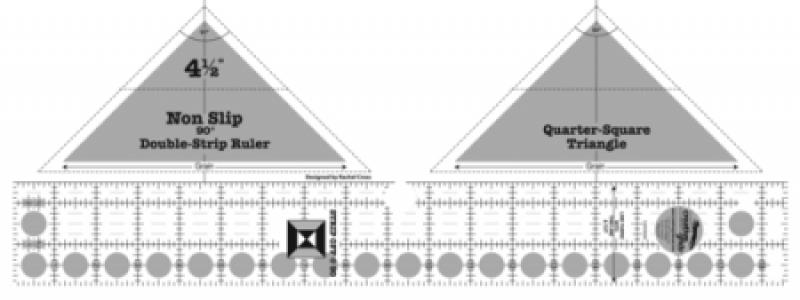 Creative Grid Ruler - 90 Degree Double Strip