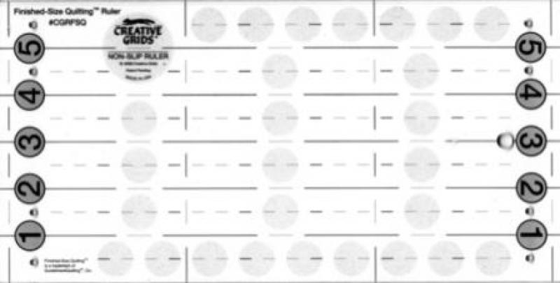 Creative Grid Ruler - 6 in x 12 in