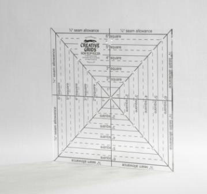 Creative Grid Ruler - 6.5 in x 6.5 in - Square-up