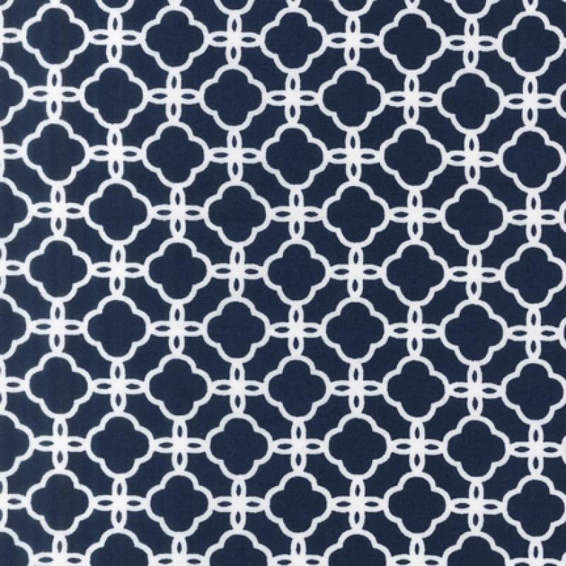 Pimatex Basics - Geometric Print Navy