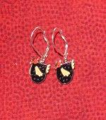 Speckled Hen Earrings