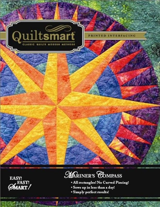 Quilting Patterns Mariner S Compass : Mariner s Compass the Quiltsmart way