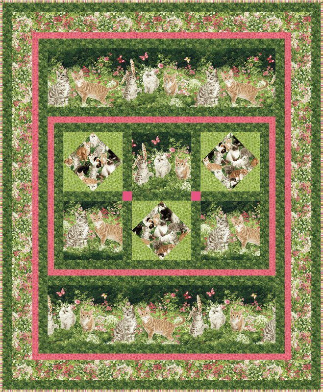 The Cat s Meow quilt pattern