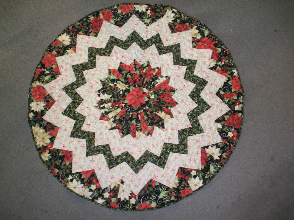 10 Degree Table Topper Tree Skirt