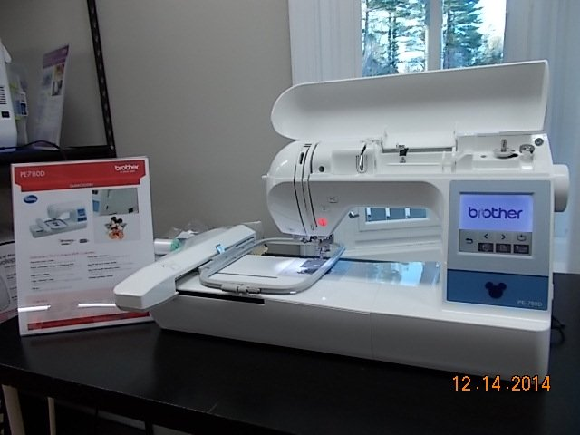 pe780d embroidery machine price