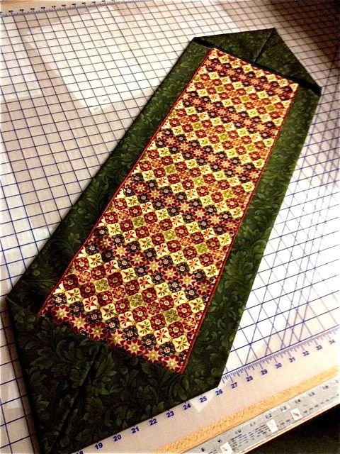 Ten minute table runner pattern and pics for 10 min table runner